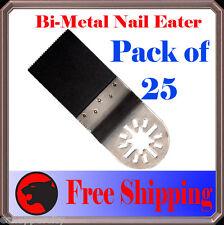 25 Pcs Nail Eater Oscillating Multi Tool Saw Blade Fein Multimaster Bosch Bosch