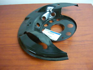 Ford Oem Disc Brake Front Backing Plate Dust Splash Shield Left
