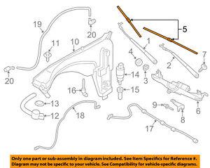 BMW-OEM-11-16-X3-Wiper-Arm-Front-Blade-61612183576