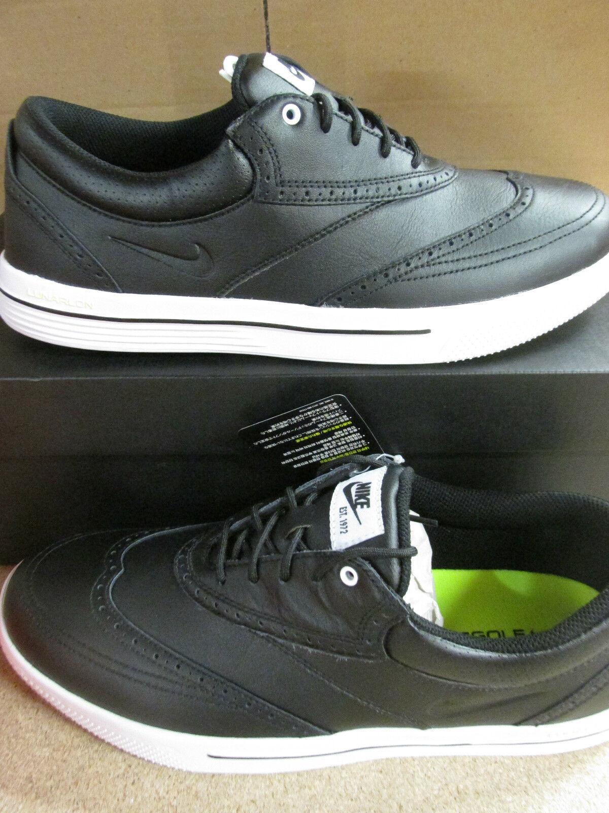 nike lunar swingtip LEA mens golf shoes 533092 001 sneakers trainers