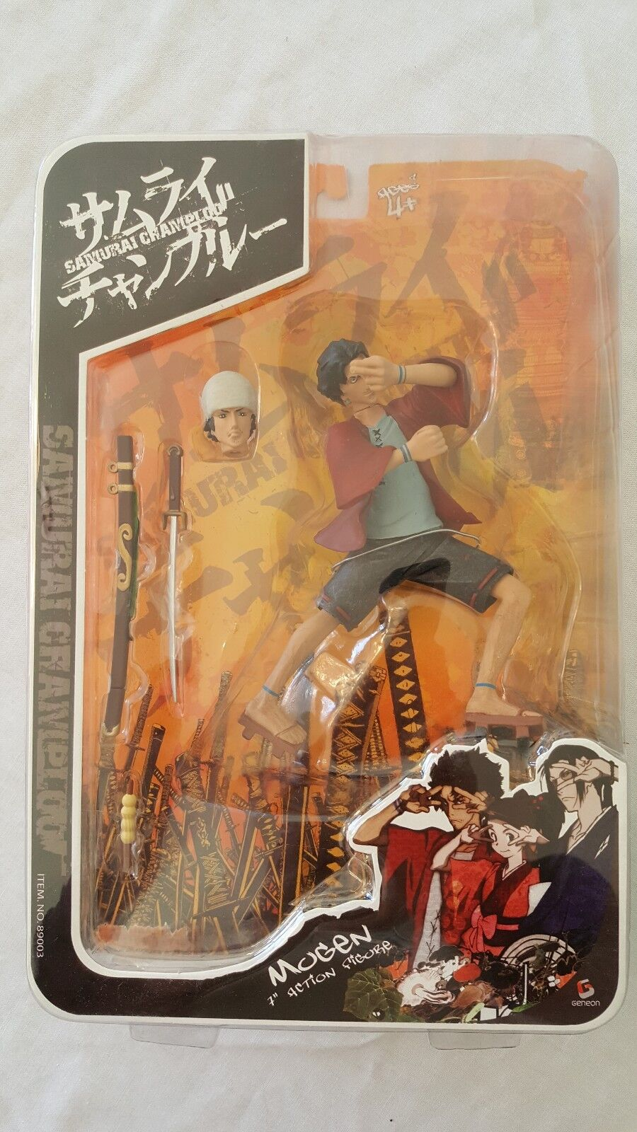 Samurai Champloo 7  Action Figure - Mugen