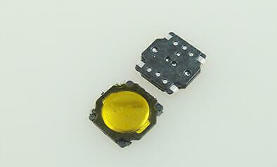100pcs//lot   4.5*4.5*0.55MM film Touch Micro Switch legs waterproof 4-pin SMD