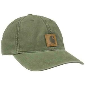 CARHARTT-MEN-039-S-100289-ADJUSTABLE-ODESSA-BALL-CAP-NWT