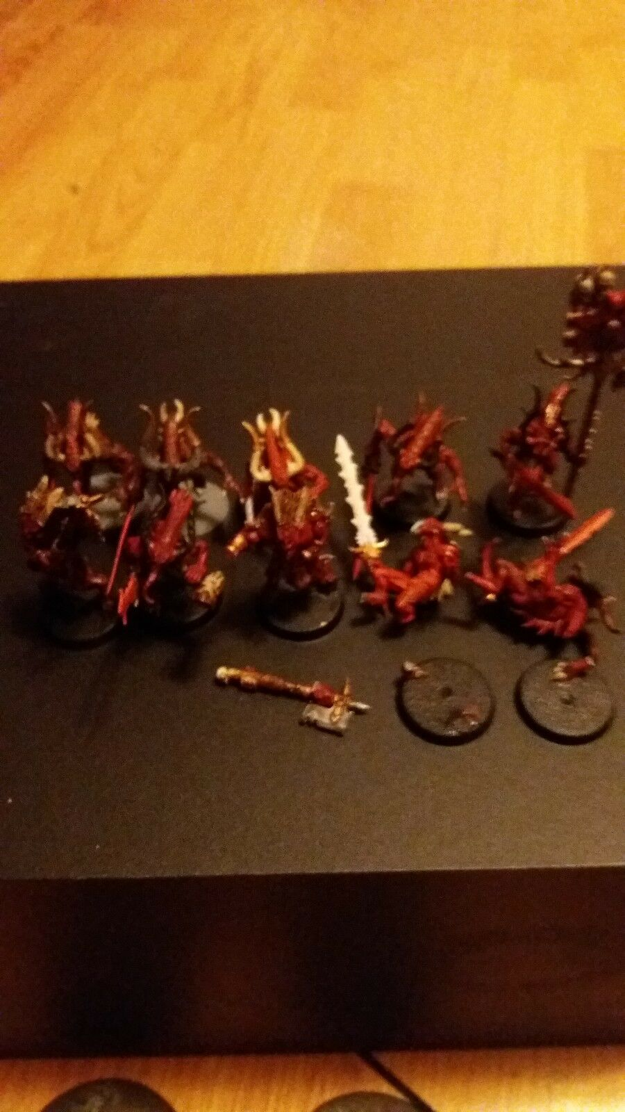 Bloodletters x10 Well painted as pictured warhammer 40k aos khorne squad 3