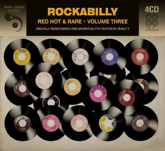 ROCKABILLY 3  4 CD NEW!