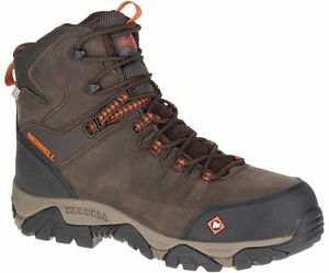 Merrell-Newest-Men-039-s-J15735-Phaserbou-Composite-Toe-Waterproof-Safety-Work-Boots