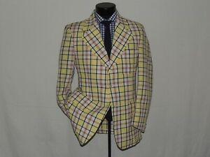 NWT-Aristrocrat-men-039-s-Vintage-1970-039-s-polyester-Disco-jacket-coat-42-R-NEW