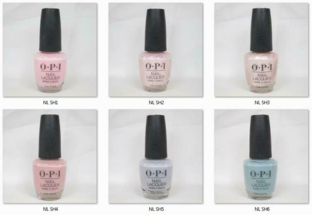 Opi Lacquer Nail Polish Always Bare For You Collection Spring 2019 Nl Sh1 To Sh6