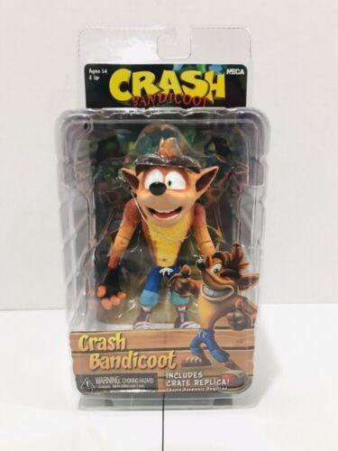 """Nouveau NECA Crash Bandicoot avec caisse Replica 7/"""" Action Figure Scellé NAVIRES GRATUIT!!!"""