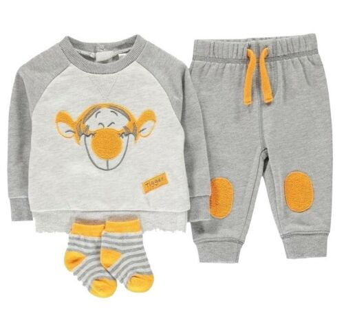 **PROMO RENTRÉE**Sweat+Pantalon+chaussettes garçon Tigrou Disney du 0 au 24 mois