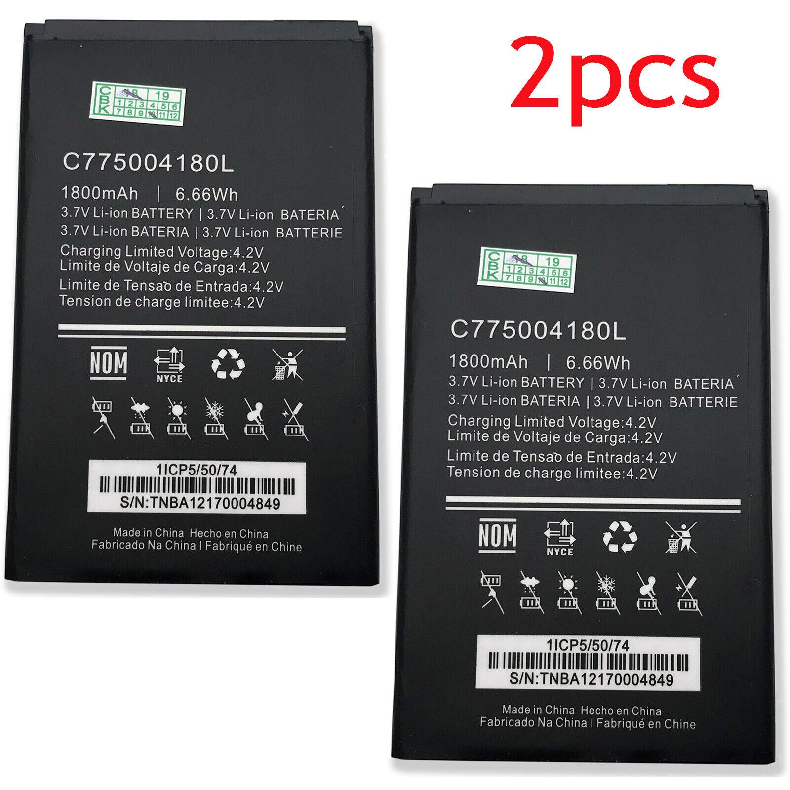 for BLU Studio 5.0 C D536// D536L Replacement Battery C775004180L Free Adhesive Tool