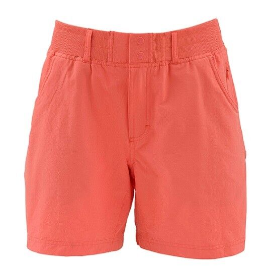 SALE Simms Woman's Drifter Short Dark Coral XS NEW FREE SHIPPING