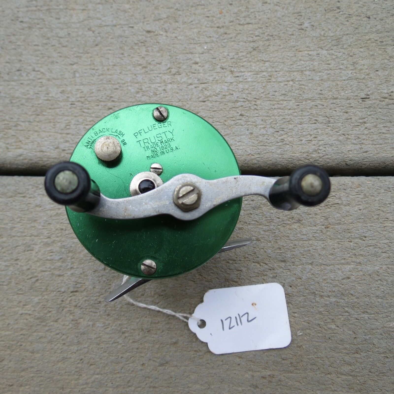 Pflüger Trusty fishing reel  made in USA mod. 1923 (lot)