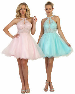 6afe99c8c8 Image is loading NEW-COCKTAIL-HOMECOMING-WINTER-FORMAL-PROM-SHORT-DRESSES-