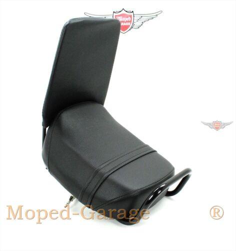 Puch Mofa Moped Sozius Sitzbank Uni Gepäckträger Montage mit Griff und Lehne