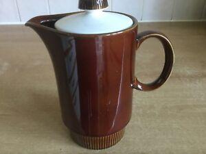 Poole-Pottery-Chestnut-1-pint-Hot-Water-Milk-Jug