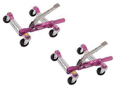 PAIR GOJAK GOJACK 5211 ROLLING CAR VEHICLE DOLLIES 5,000 lb Auto Dolly SET OF 2