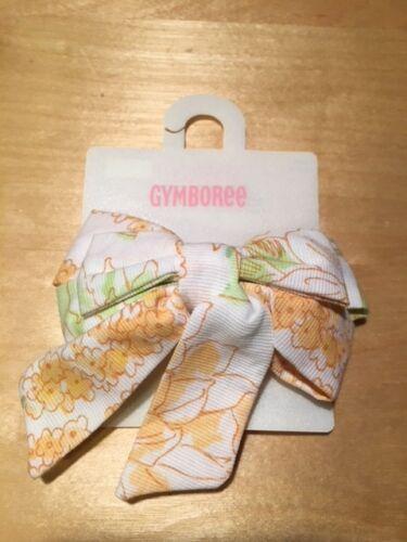 Gymboree hair bow snap clip barrette NWT Strawberry Primrose Imaginary Friends