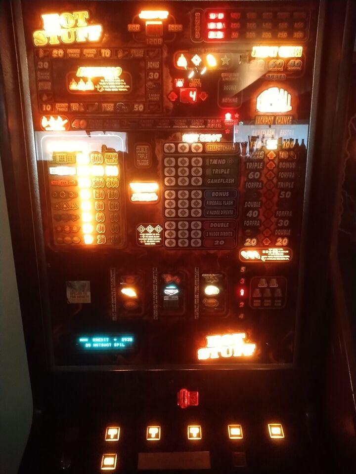 Hot stuff, spilleautomat, God