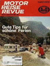 Motor Reise Revue 6 1979 VW Passat GLD Variant Bully Alfa 6 Datsun Cherry Alpine