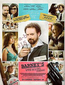 BARNEY-039-S-VERSION-2011-MOVIE-Film-ADVERT-Hoffman-Pike-Driver-Giamatti