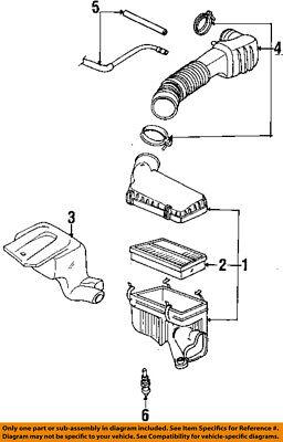 Saturn Gm Oem 92 02 Sl2 Engine Air Cleaner Filter Element 21000938 Ebay