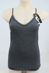 Jockey-Ladies-Reversible-Neckline-Singlet-Cami-Camisole-sizes-12-14-Black-Grey