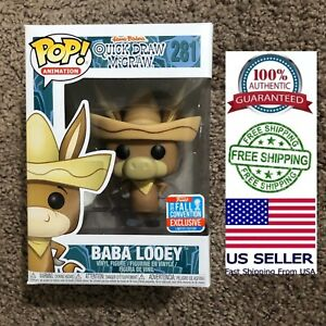 Funko-Pop-281-Baba-Looey-Quick-Draw-McGraw-Fall-Convention-NYCC-Exclusive-2018