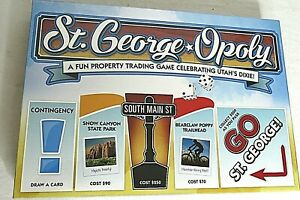 Monopoly-St-George-Opoly-Utahs-Dixie-City-Board-Game-Sealed-NIB-Made-in-USA