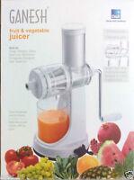 Ganesh Fruit & Vegetable Juicer   Fruit Juicer   With Still Handle   Hand Juice