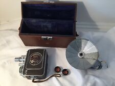 Vintage Bell & Howell Filmo Auto-8 Video Camera 8mm Film Movie Director
