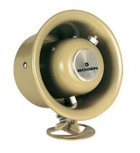 Bogen-7-5-Watt-Paging-Speaker-Horn-w-Weatherproof-Design-BG-SPT5A