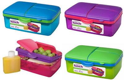 Lunchbox Brotdose Brotbox Vesperdose Quaddie Frischebox Trinkflasche Sistema Box
