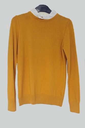 New M*S M*rks and Spencer Mustard Yellow or Black Jumper sweater 6 8 10 12 14 16