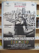 A2642  CONTRA EL IMPERIO DE LA DROGA. GENE HACKMAN, FERNANDO REY, ROY SCHEIDER