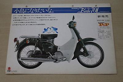 170055) Suzuki Birdie 70 L - Japan - Prospekt 197?