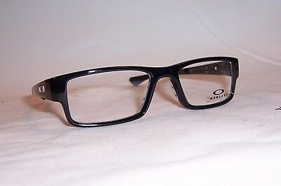 NEW OAKLEY EYEGLASSES AIRDROP OX 8046 8046-02 BLACK INK 53mm RX AUTHENTIC 804602
