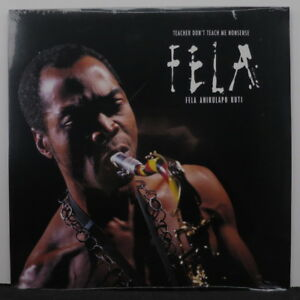 FELA-KUTI-039-Teacher-Don-039-t-Teach-Me-Nonsense-039-Vinyl-LP-NEW-SEALED