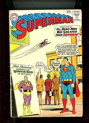 "Gd./vg "" Superman "" # 163 Wonder Man 1963 Dc Comics Bx67 Online Discount"