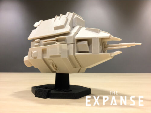 Syfy TV Series The Knight Spaceship Replica The Expanse 3D Printed.