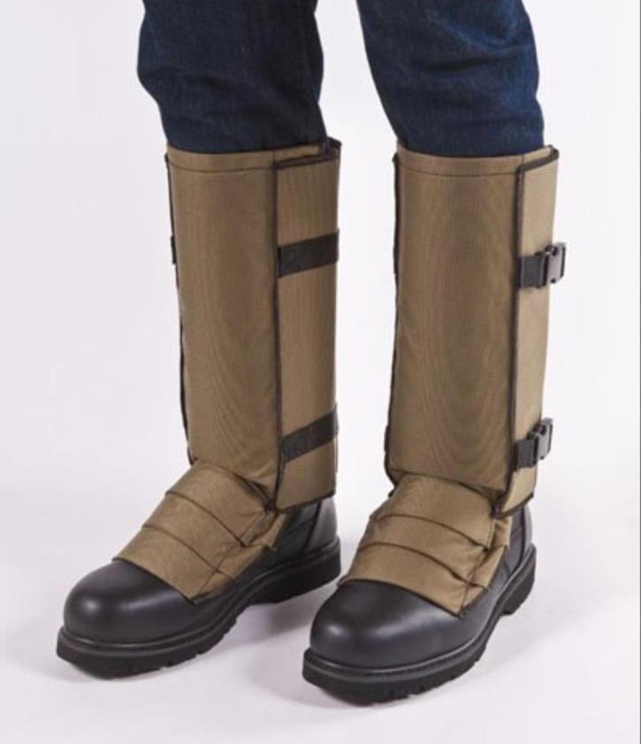 Khaki Tan, X-Tall SnakeGuardz(TM) Snake Proof Leggings, Gaiters (L-XXXL )