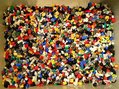 LEGOS 100  Small Tiny Pieces - Bricks, Plates, Slopes, Grills, Caps, Detail etc