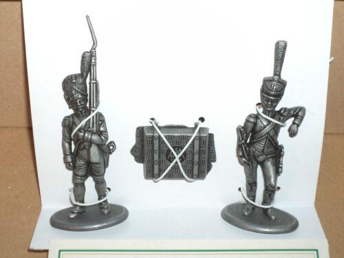 Austerlitz 1805 zwei Grenadiere zu Fuß Zinnfiguren Maßstab 1:32  Neu # 006