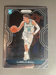 Lamelo Ball RC 2020-21 panini Prizm 278 Charlotte Hornets see pics! Mint?