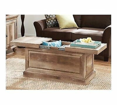 Better Homes And Gardens Crossmill Collection Storage Coffee Table Weathered For Sale Online Ebay