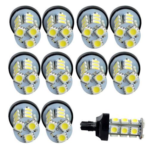 Lot10 Xenon White Reverse T20 7440 7441 5050 18SMD LED Light Bulbs Lamp