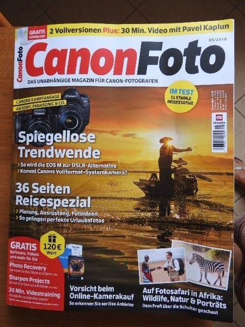 CANON FOTO Das Magazin für Canon-Fotografen 05/2018