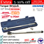 """thumbnail 1 - Kincrome 1/2"""" Drive Micrometer Car Torque Wrench Triple Scale Hand Tool MTW150F"""