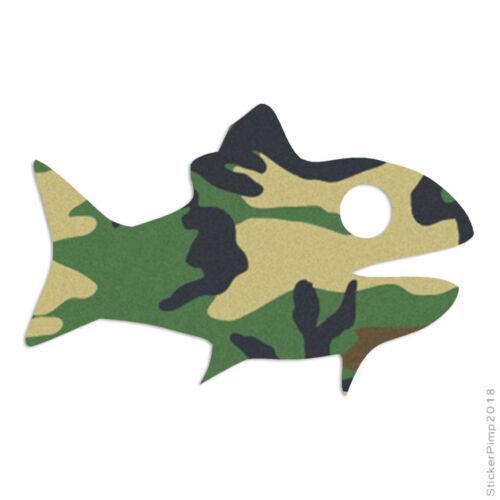Goldfish Fish Guppy Art Decal Sticker Choose Pattern Size #2376