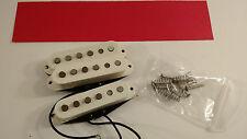 Squier by Fender Stratocaster Standard Strat AlNiCo Single Coil Pickup Set White